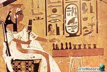 ¿Nefertari jugando?