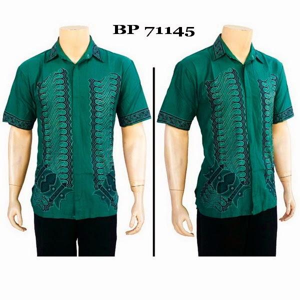 Baju Hem Batik Pria BP71145