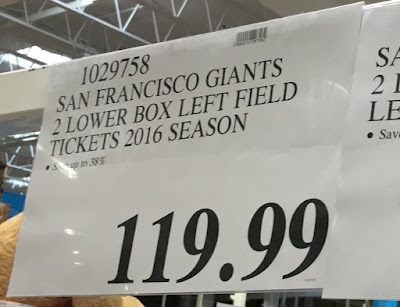 Red level tier price for 2 lower box San Francisco Giants tickets