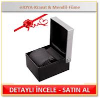 eJOYA-Kravat & Mendil-Füme