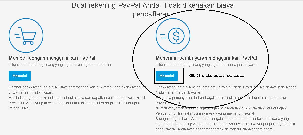 6 Cara Membuat Akun PayPal - MaxAndro