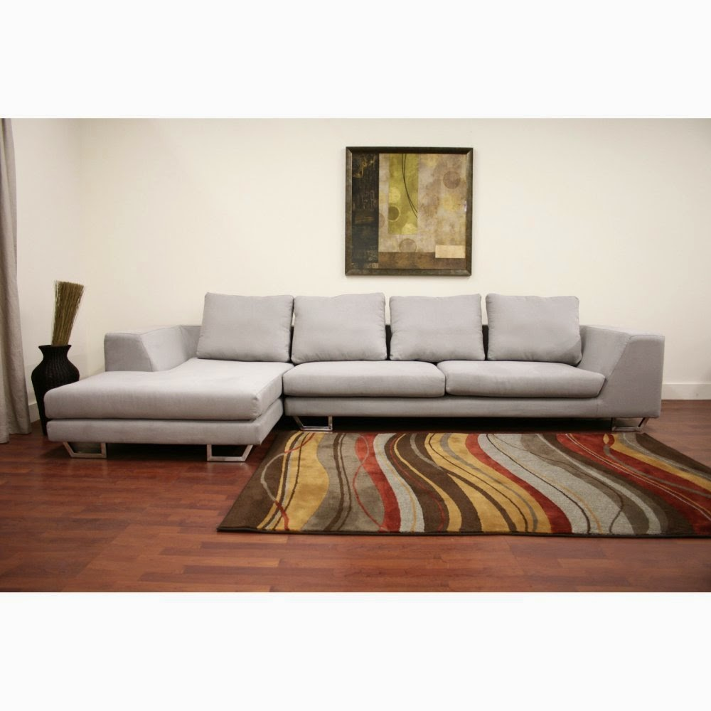 Sectional Couch Light Gray: Gray Couch