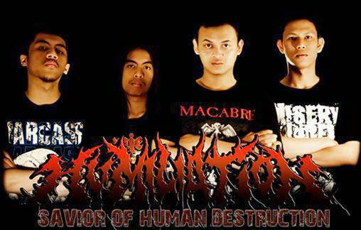 Humiliation Band Brutal Extreme Death Metal Bandung - Indonesia Foto personil logo wallpaper