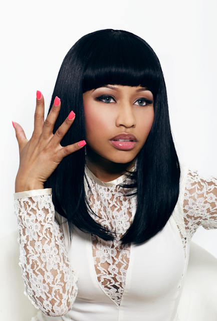 Nicki Minaj hairstyle black color