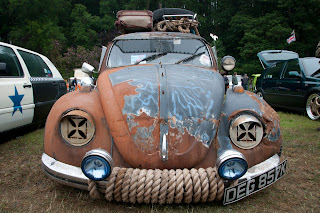 Rat look beetle at Plymouth Volksfest