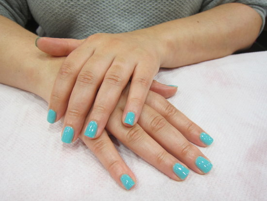 Manicure at Nail Chic Salon, Dublin