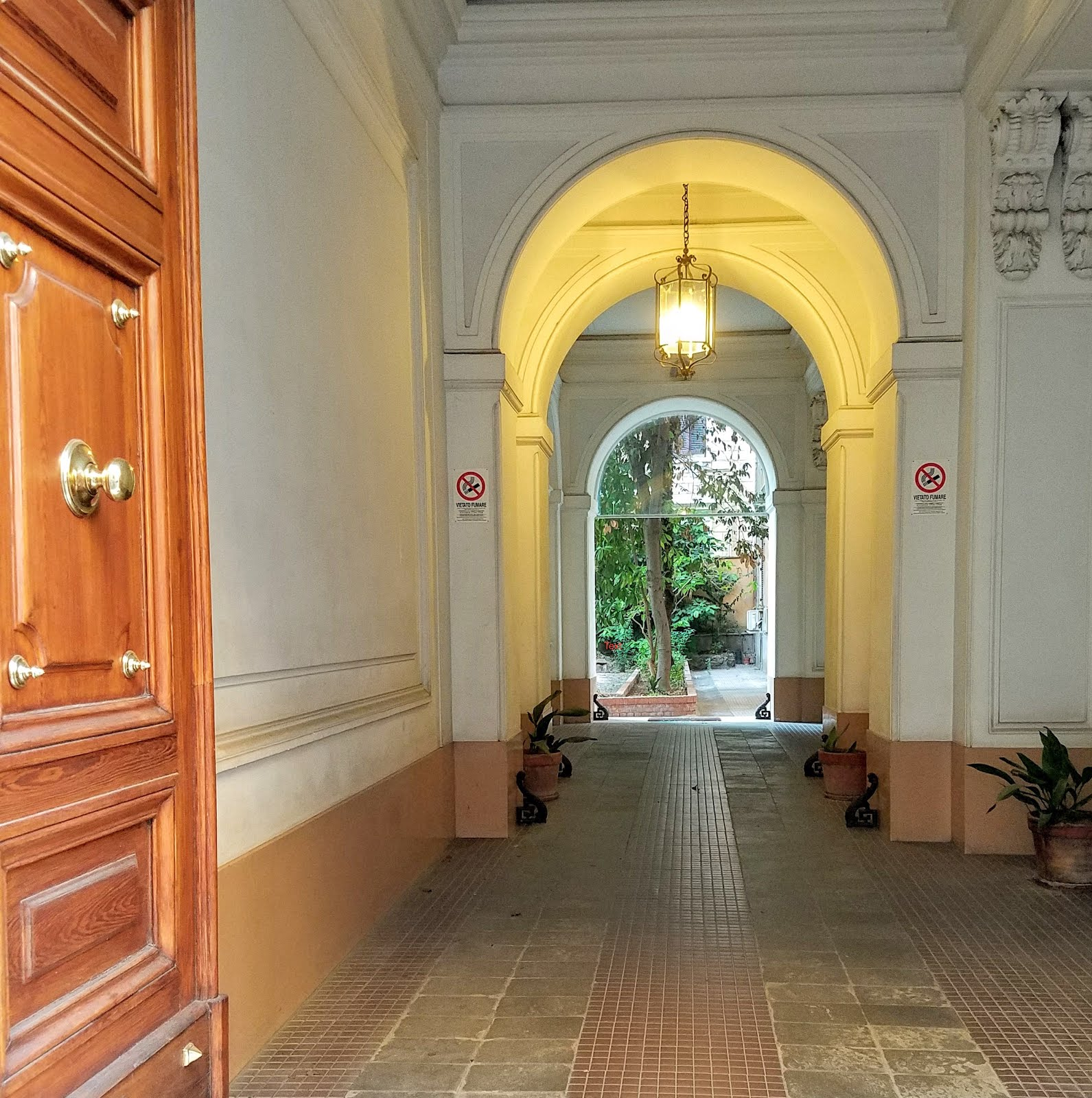 Apartment Entry- Prati, Rome, Italy