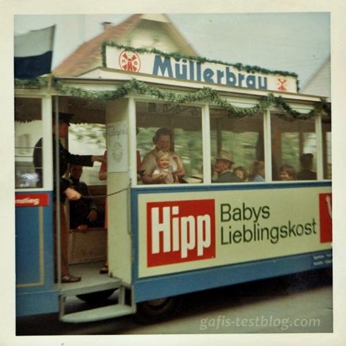 Bimmelbahn - Volksfest 1970