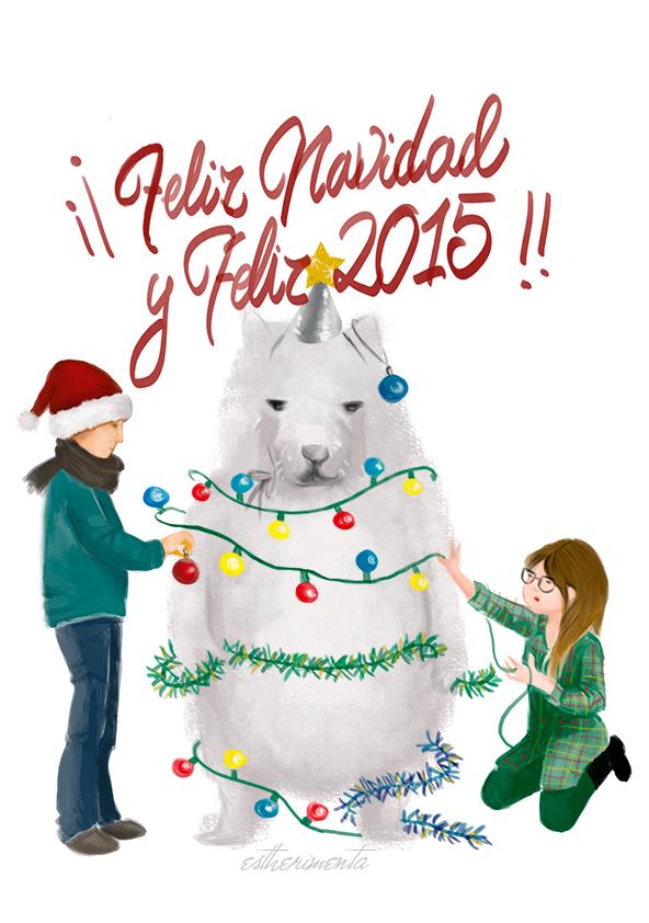 Feliz navidad por estherimenta