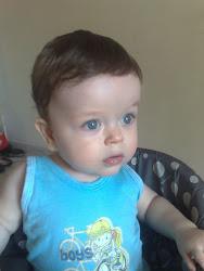 Samuel com dez meses