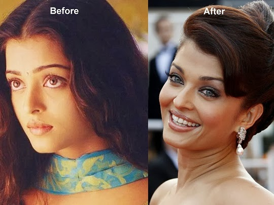 Aishwarya Rai Before And After