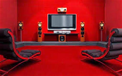 Model Konsep Tata Ruang Home Theater Pribadi Desain Modern Minimalis