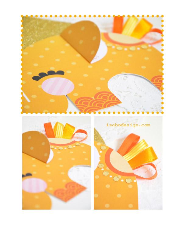 isabo-invito-dumbo-party-elephant-orange