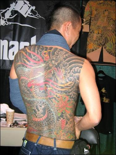 Japanese Dragon Tattoo For Man