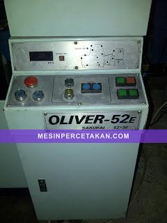 Oliver 52E printing machine