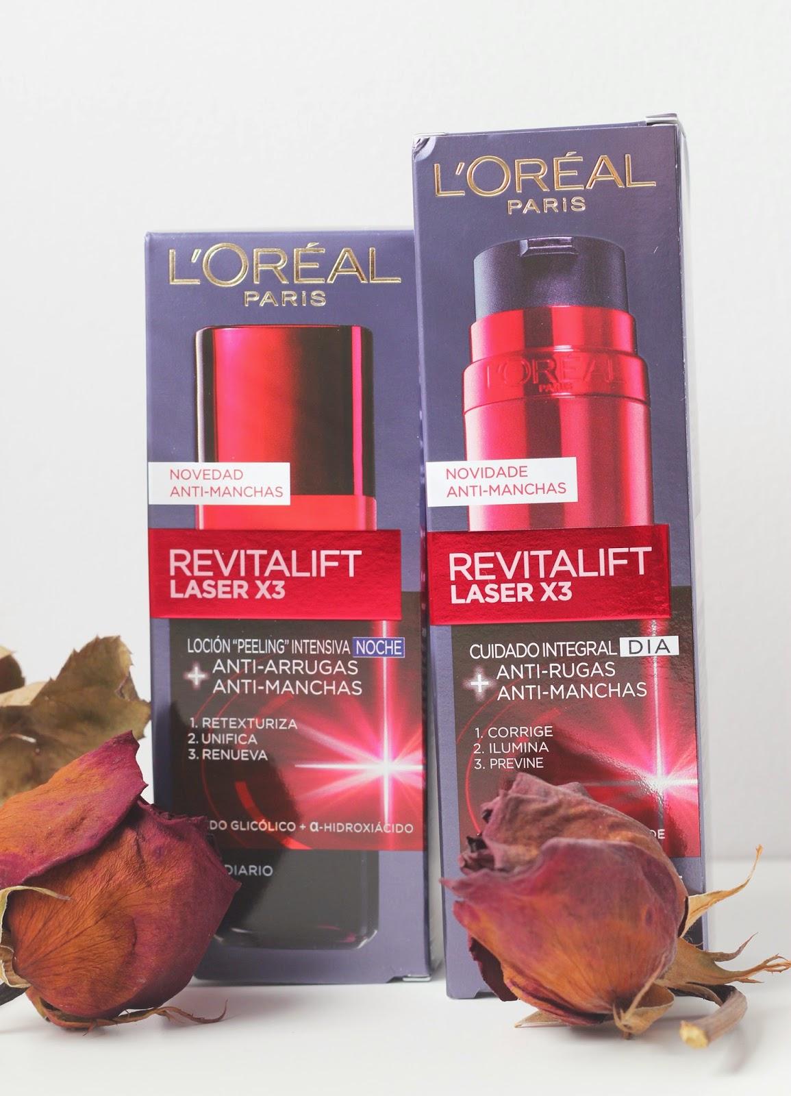 photo-l'oreal-revitalift-laser-X3-antiarrugas-antimanchas