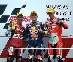 Zulfahmi, Sejarah Podium Pertama Dari Anak Malaysia Dalam MotoGp
