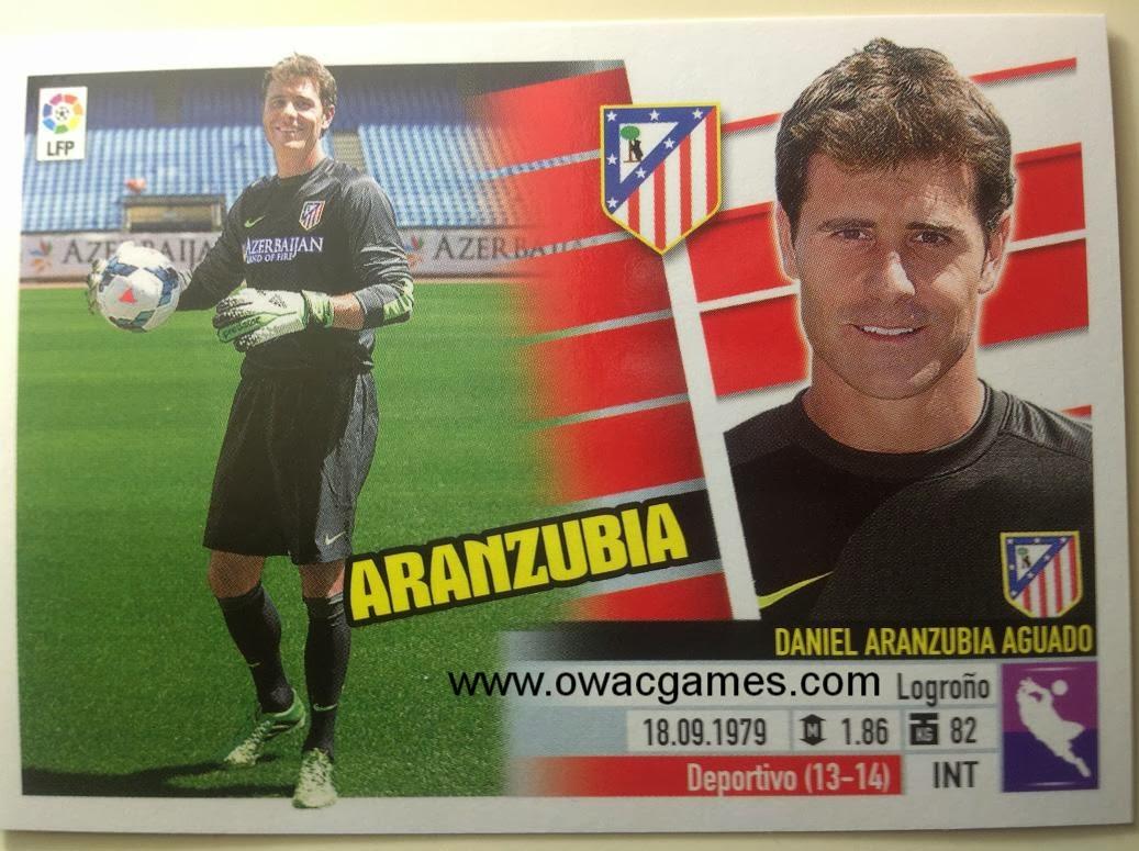 Liga ESTE 2013-14 Atl. de Madrid - 2B . Coloca - Aranzubia