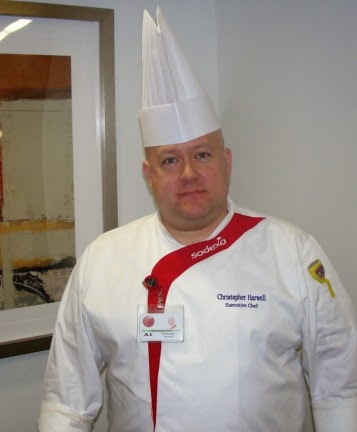 Sodexo Executive Chef Christopher Harwell
