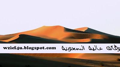الوظائف الخالية السعودية :  وظائف شاغرة السعودية الأحد 12 مايو 2013 - 12-5-2013