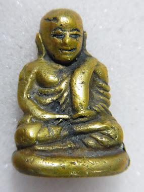 รูปหล่อ พิมพ์นิยม เนื้อทองคำผสม (หน้า)