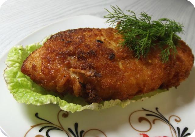 Roladki z kurczaka faszerowane grzybami