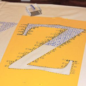 Stamped Sheet, Stencil