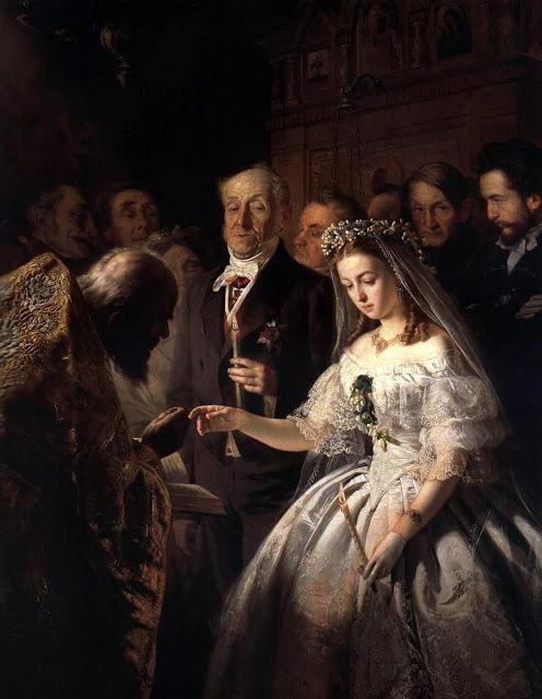 В. Пукирев - неравный брак