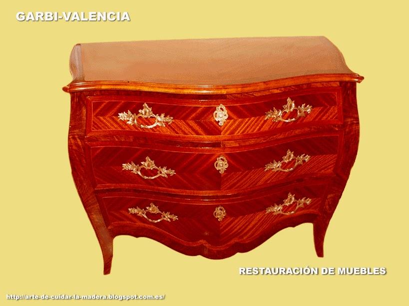 Arte de cuidar la madera restauraci n de muebles y - Restauracion muebles valencia ...