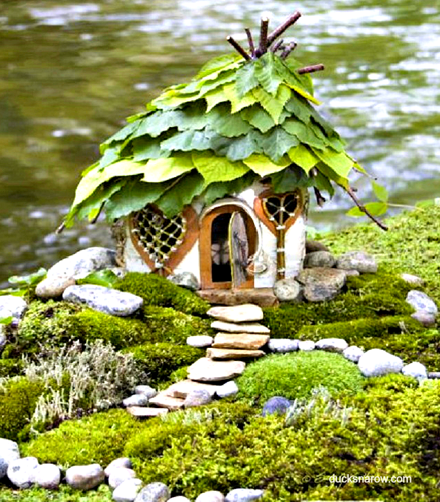 Make A Fairy House With Your Kids Ducks N A Row