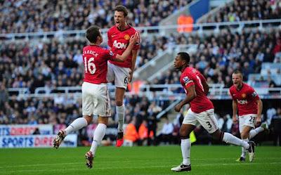 Hasil dan Cuplikan Video Gol Newcastle vs Manchester United 0-3