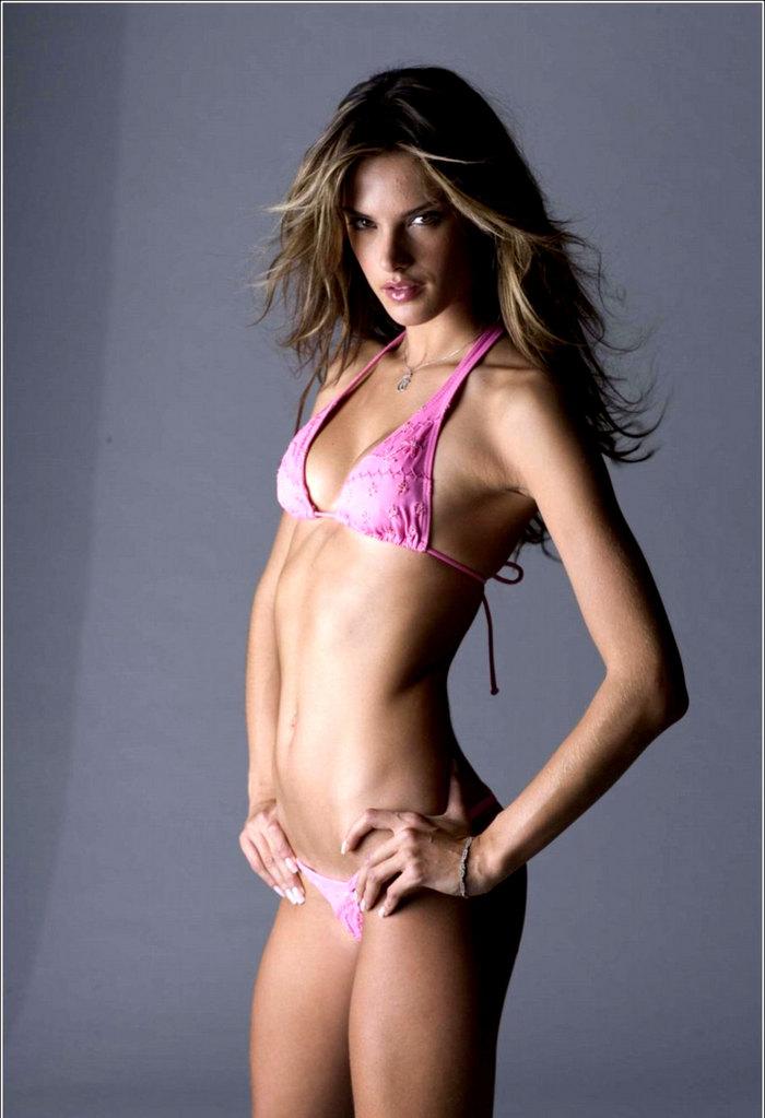 alessandra ambrosio in pink bikini photoshoot   hot sexy models