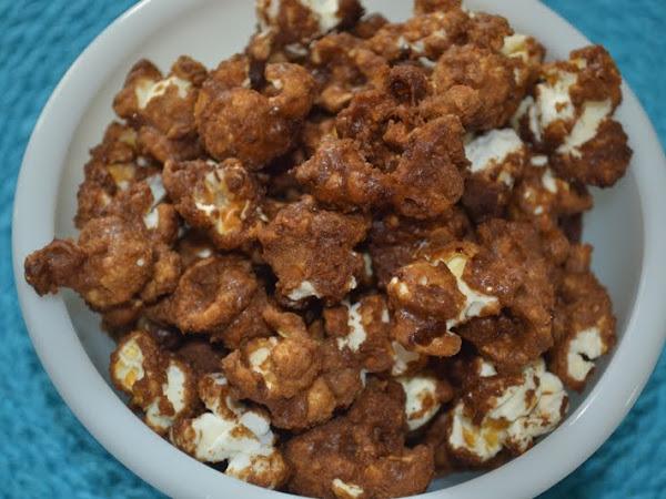 Sea Salted Maple Caramel Popcorn... My Irene Survival Food
