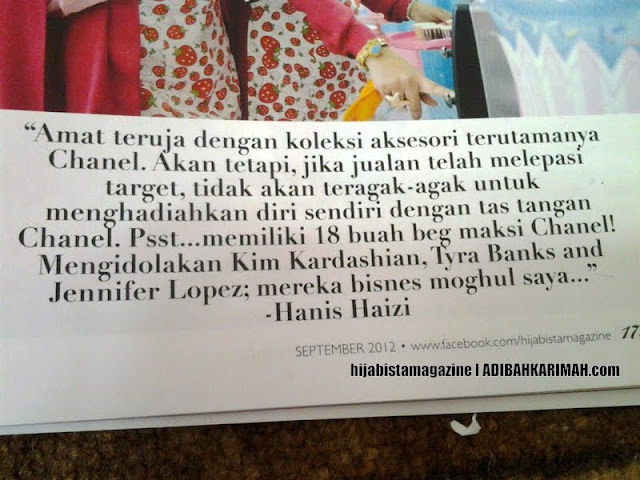 Hijabista Magazine featuring Hanis Haizi and the gang from Premium Beautiful Top Agents