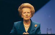 Britain's first woman prime minister . margaret thatcher style