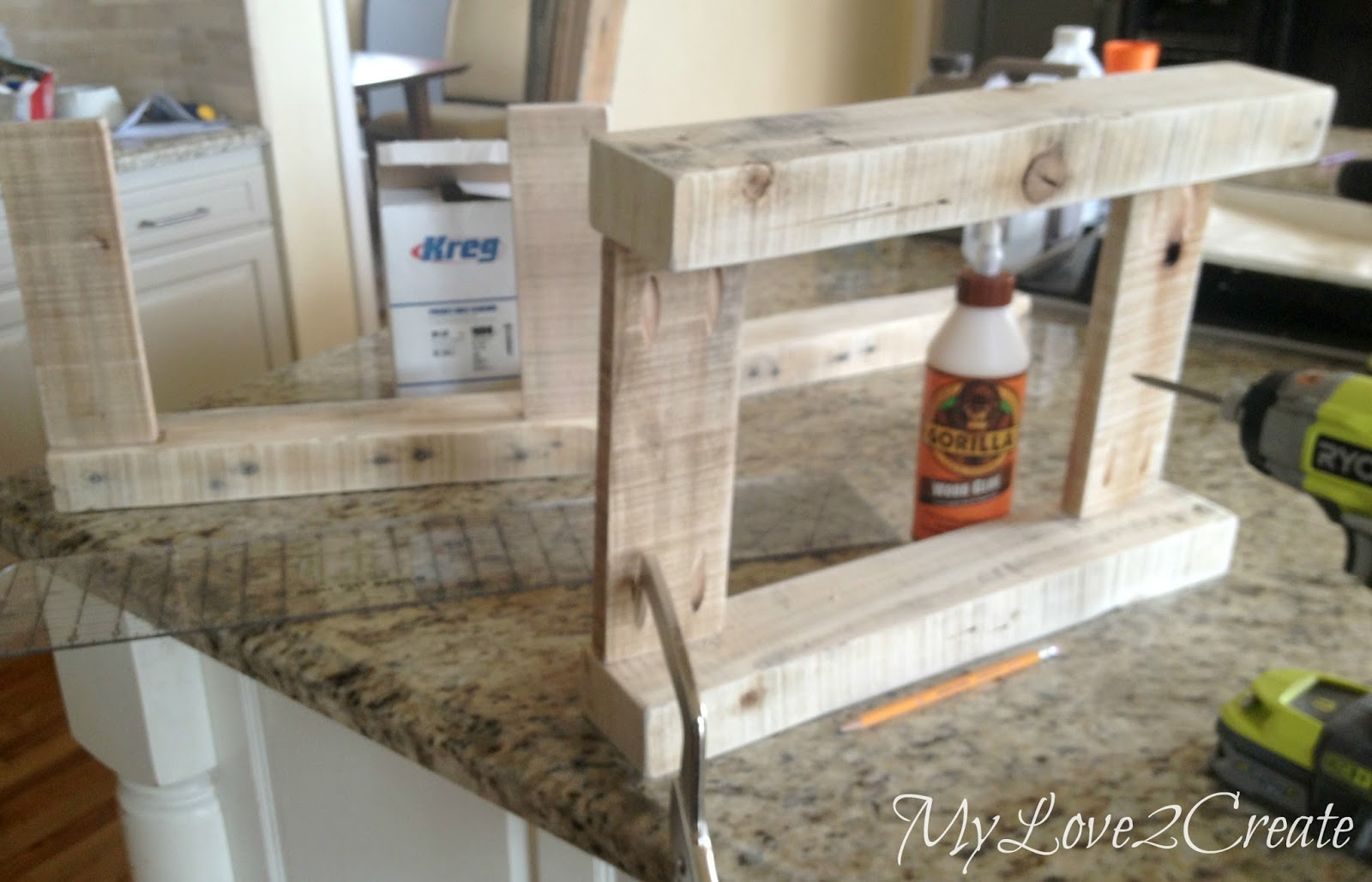 building bench ends
