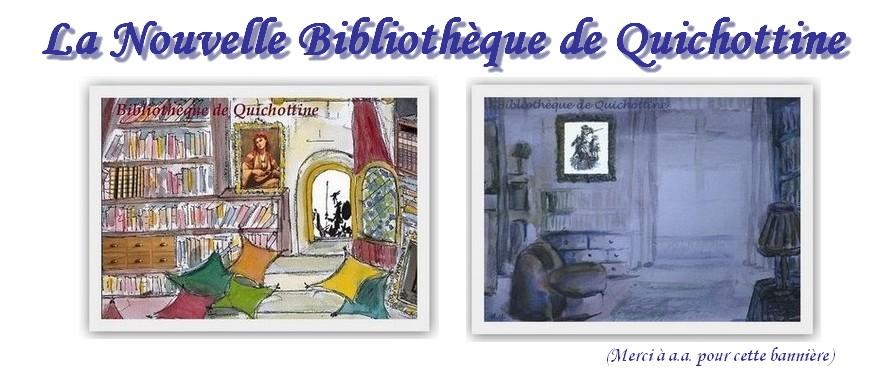La nouvelle bibliothèque de Quichottine