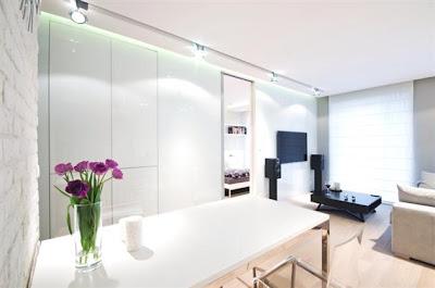 Desain Interior Minimalis Serba Putih 12