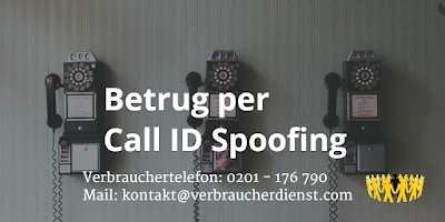 Betrug | Call ID Spoofing | Deutschland