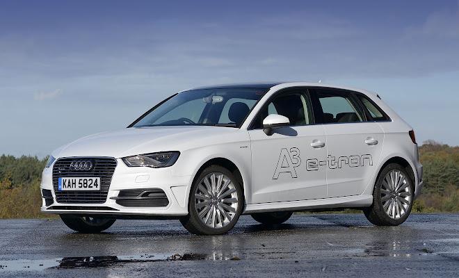 Audi A3 Sportback e-tron front view