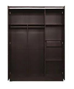 Tampak Dalam Lemari Pakaian 3 Pintu Everlasting Series Popular Furniture