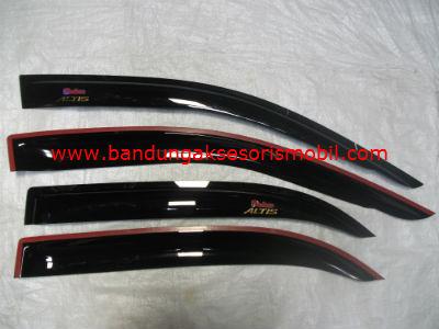 Talang Air Corolla Altis 01-07 Original Black Depan Belakang