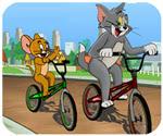 Tom và Jerry đua xe đạp