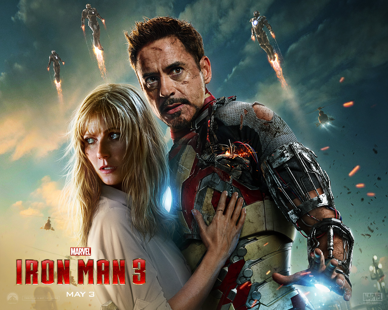 Iron Man 3 wallpaper 1280x1024 011
