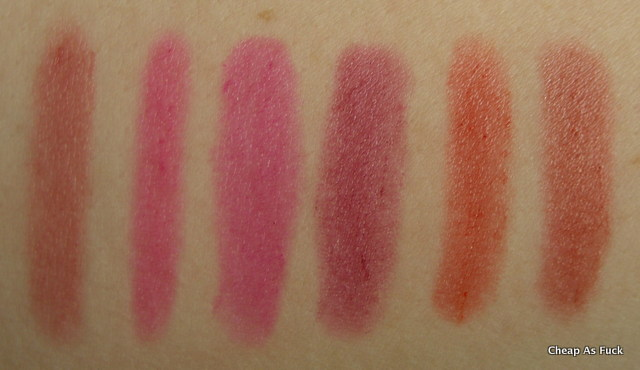 Revlon Just Bitten Kissable Balm Stain in Honey, Lovesick, Smitten, Crush, Romantic, Adore