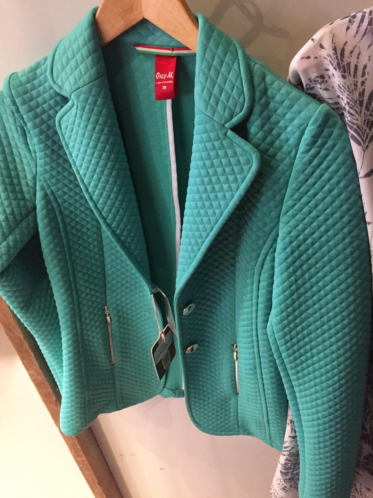 Tall textured blazer