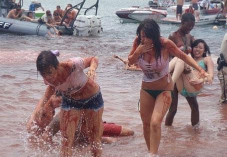 Then The Piranha Attack