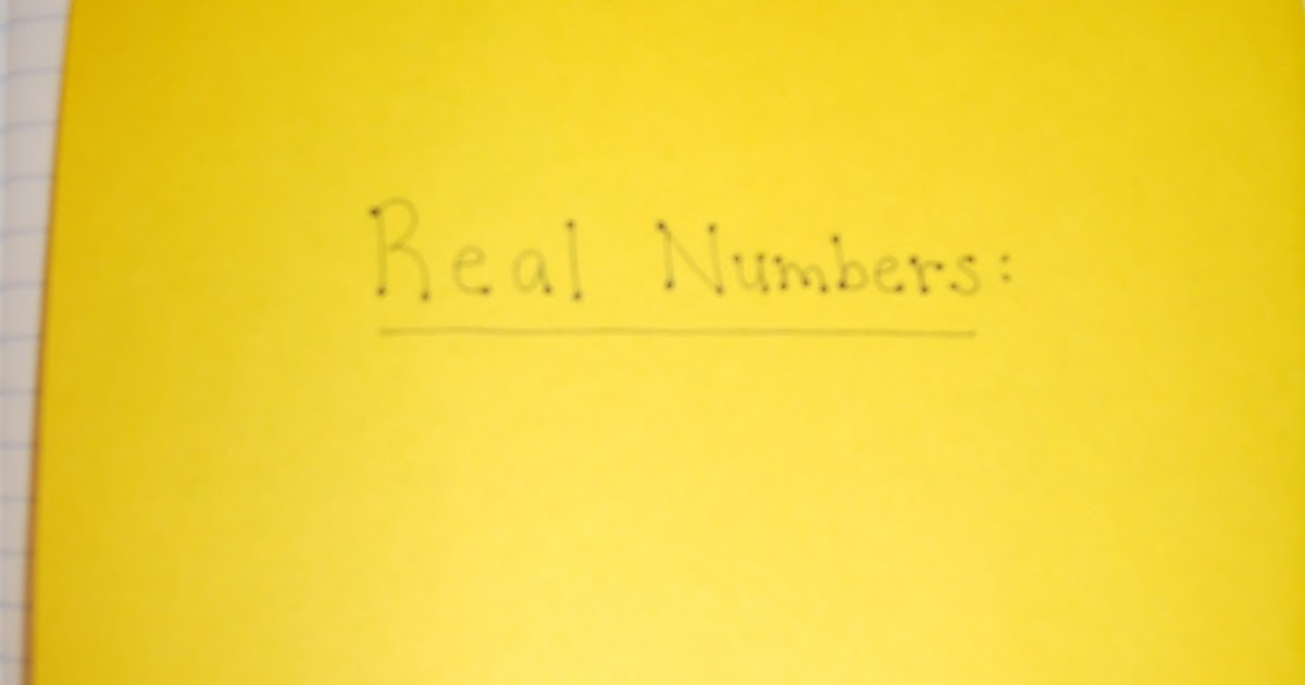 a sea of math  classifying real numbers foldable