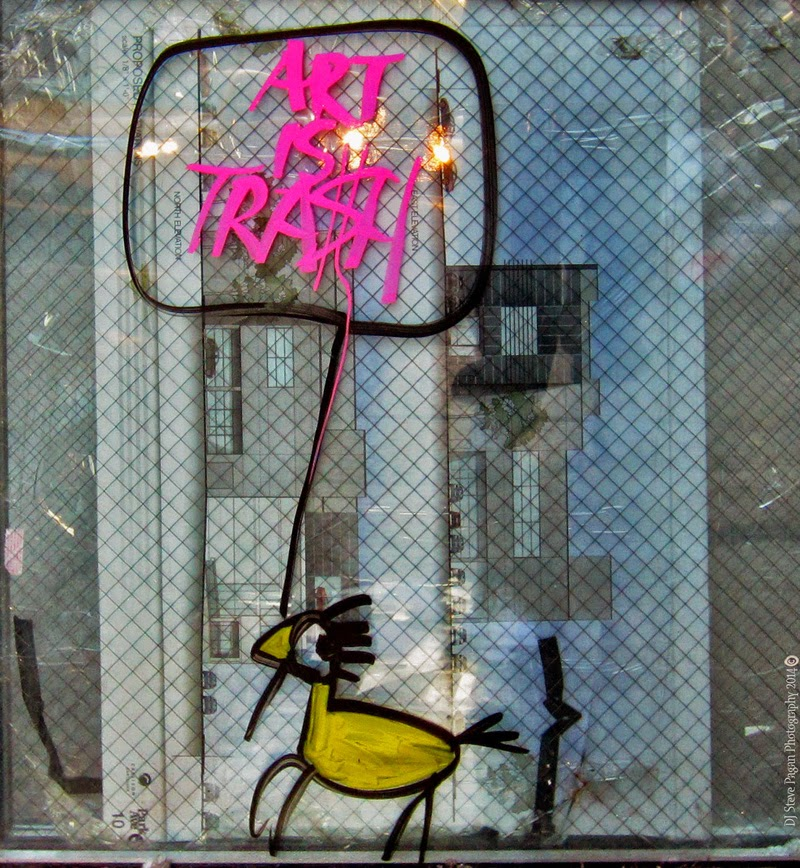 Art is trash de Francisco del Pajaro