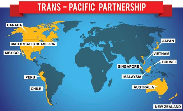 TTP - Hiệp định kinh tế Thái Bình Dương